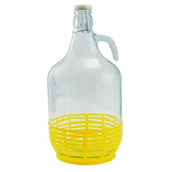 Demizson Műanyag kupakkal 5 Literes