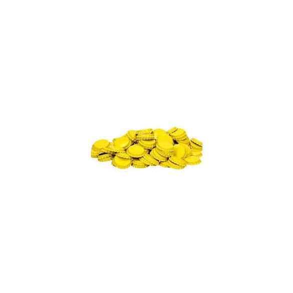 Sörös kupak sárga színû 100db