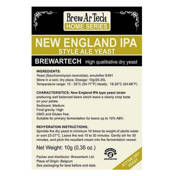 Brewartech New England IPA sörélesztő 10g