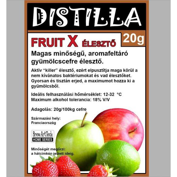 DISTILLA FRUIT X Gyümölcscefre élesztő 20gr