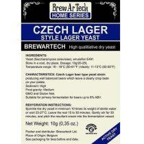 Brewartech Czech lager sörélesztő 10g