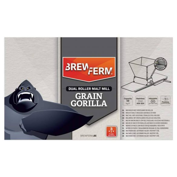Brewferm Grain Gorilla Precíz Roppantó