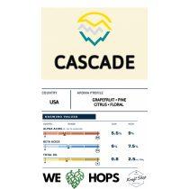 Cascade aromakomló pellet 500g (0,5kg)