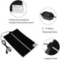 Melegítő lap/heat pad szabályozható 42x28cm 20W