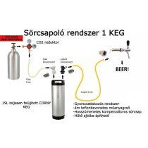 Sörcsapoló rendszer 1 KEG