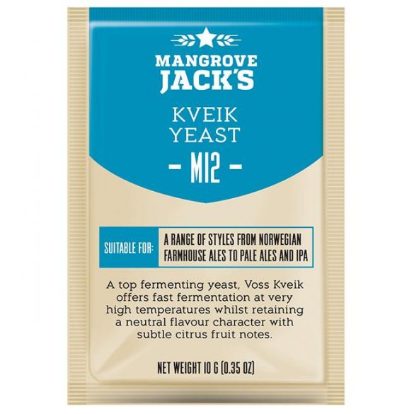 Mangrove Jack's M12 Voss Kveik sörélesztő 10g