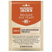 MANGROVE JACK'S M41 Belgian Ale sörélesztő 10g
