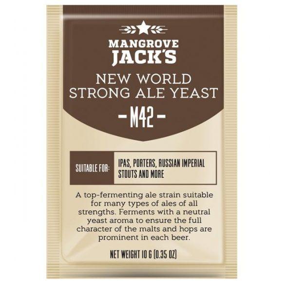 Mangrove Jack's M42 New World Strong Ale sörélesztő 10g