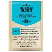Mangrove Jacks M76 Bavarian Lager élesztő 10g