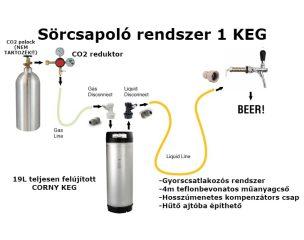 Komplett sörcsapoló rendszerek